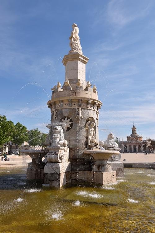 Aranjuez Fuente de la Mariblanca Galería Fotográfica