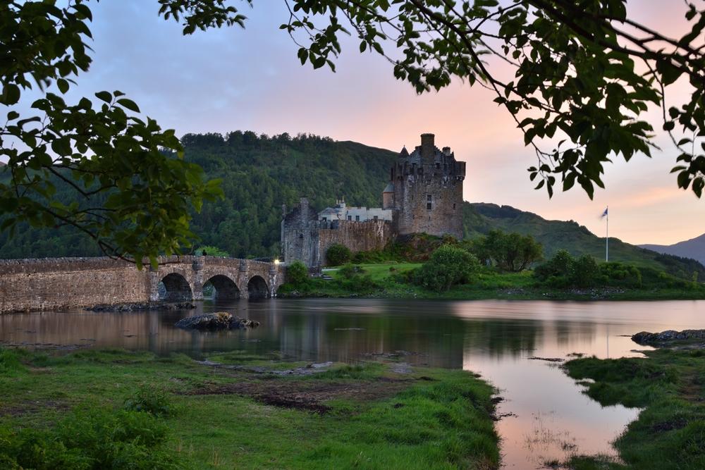 Castillo Eilean Escocia Galería Fotográfica Selección de fotografías de mis viajes