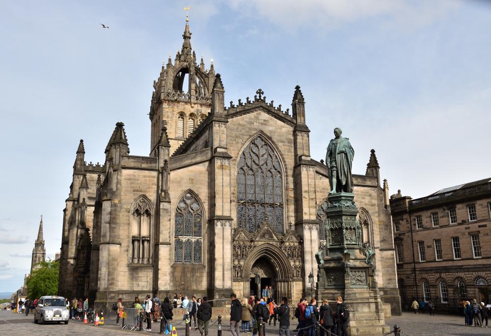 Catedral de Edimburgo Escocia