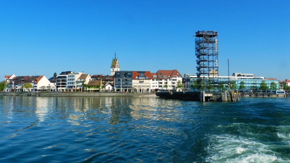 Friedrichshafen panorámica Lago Constanza