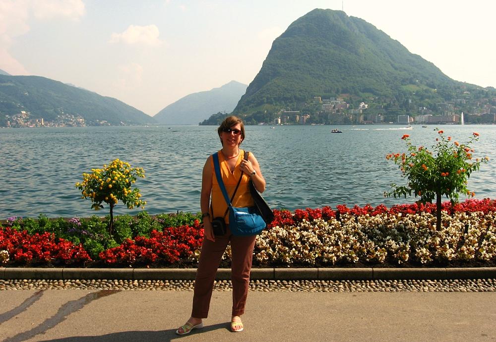 Jardín en Lugano