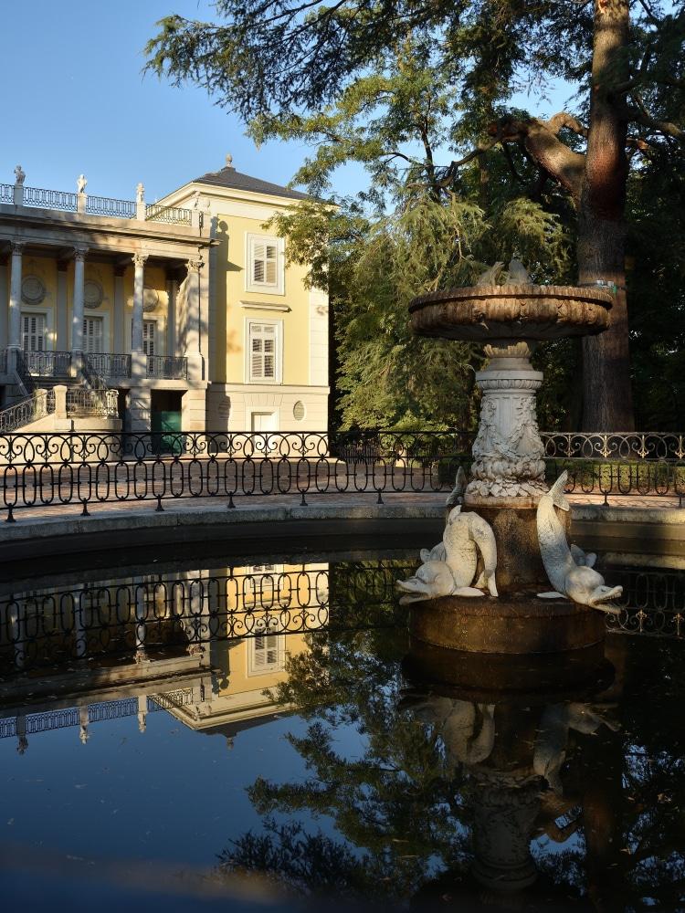 Jardín del Capricho Madrid