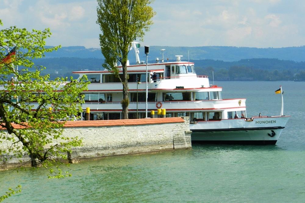 Lago Constanza Bodensee barco