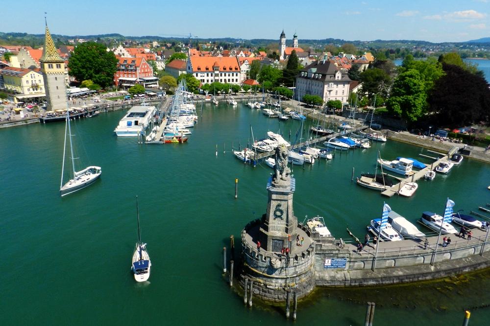 Lindau Puerto Constanza Bodensee