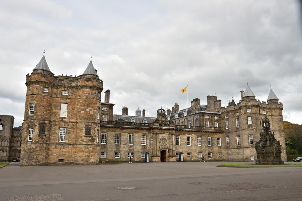Palacio Edimburgo Escocia