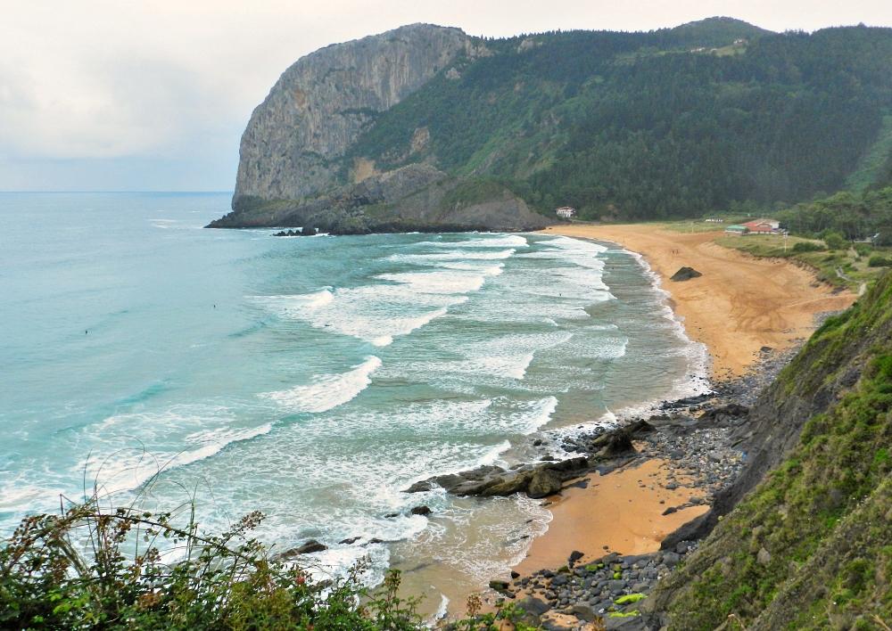 Playa de Laga, Urdaibai