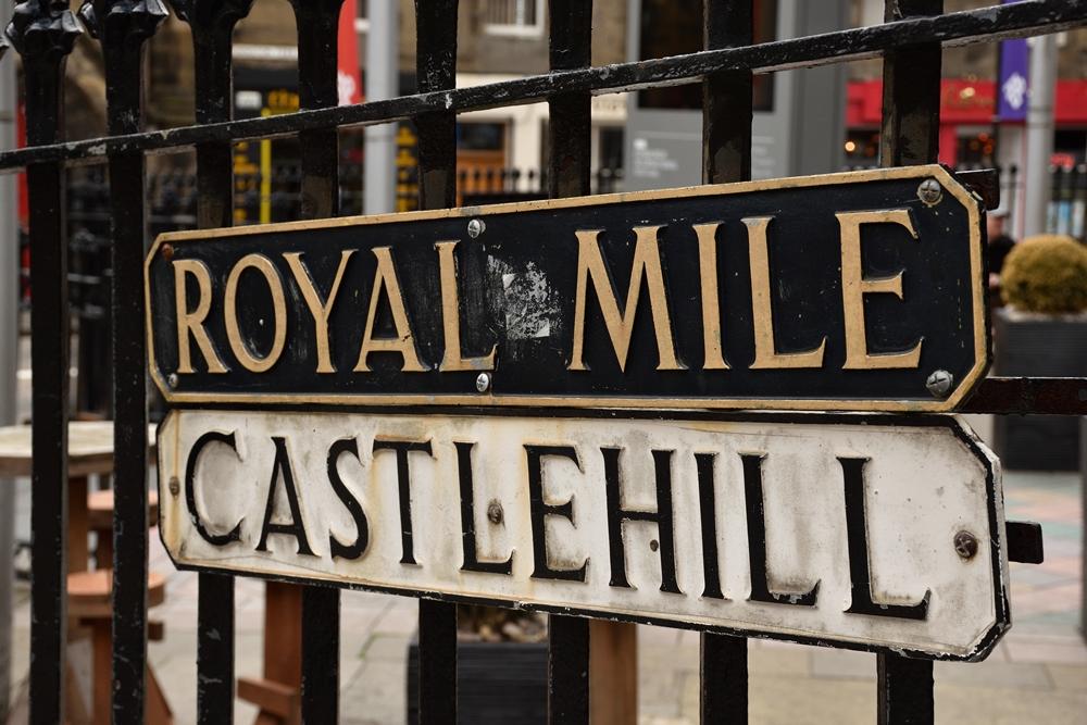 Royal Mile, Edimburgo, Escocia