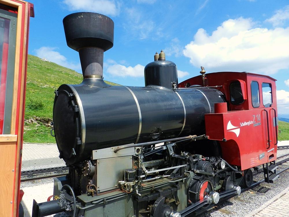Tren cremallera Schafberg Austria