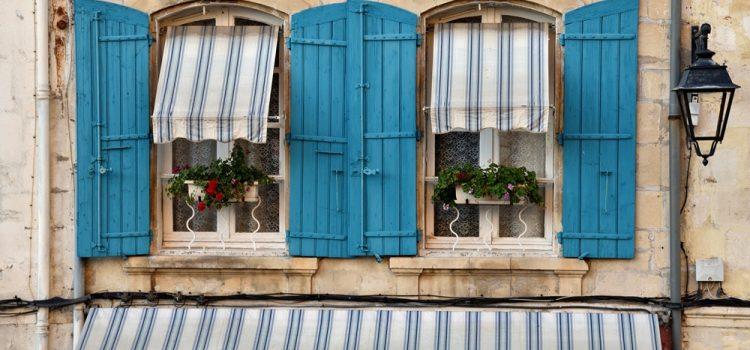 Ventanas Arlés Provenza Francia